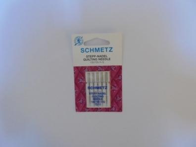 Иглы Schmetz для квилтинга №75(5шт) 130/705 H-Q № 75 фото №2