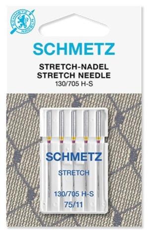 Иглы Schmetz стрейч. №75(5шт) стрейч. №75 фото №1