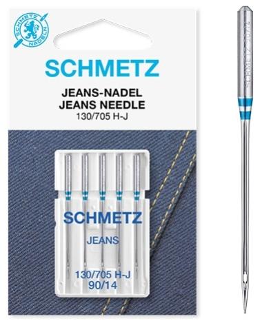 Иглы Schmetz джинс №90(5шт) 130/705 H-J № 90  фото №3