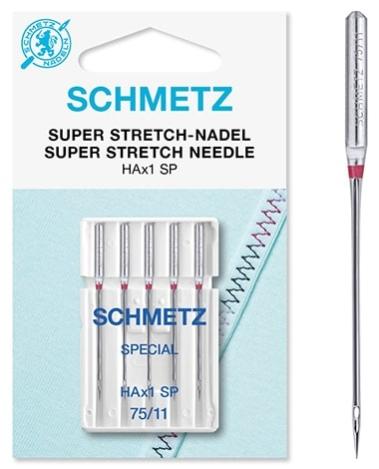 Иглы Schmetz HAX1 SP для оверлока №75(5шт) HAX1 SP фото №3
