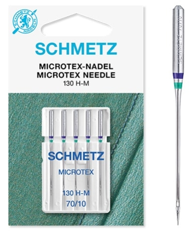 Иглы Schmetz микротекс №70 микротекс №70 фото №3