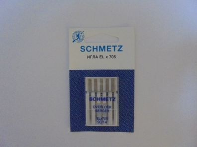 Иглы Schmetz EL*705 оверлочные №90 ELX705 оверлочные №90 фото №2