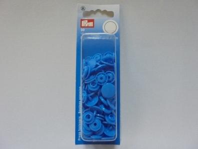 PRYM КНОПКИ BLUE COLOR SNAPS 30шт. 12,4мм (арт.393108) 393108 фото №1