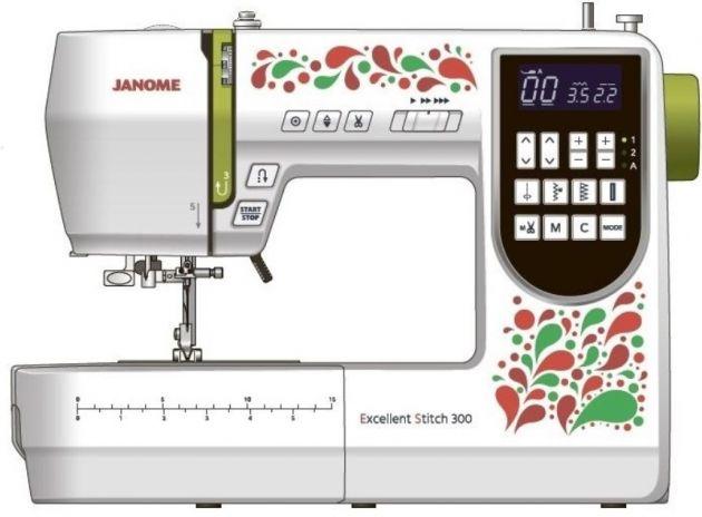 JANOME EXCELLENT STITCH 300 JANOME Excellent Stitch 300 фото №1