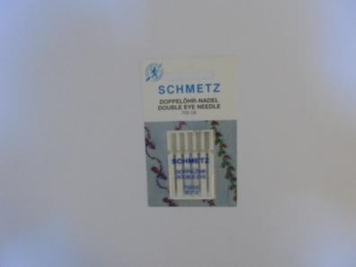 Иглы Schmetz с двойн. отверстием №80(5шт) 705 DE № 80 фото №3