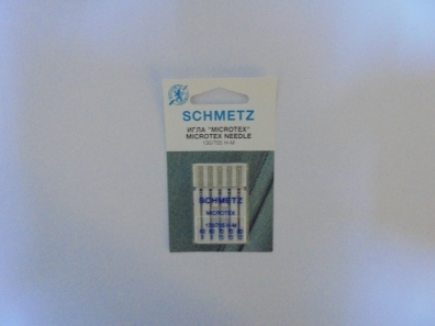 Иглы Schmetz микротекс №60-80 микротекс №60-80 фото №3