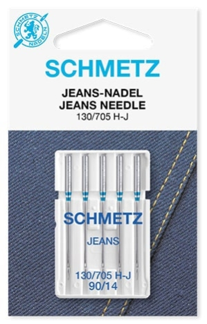 Иглы Schmetz джинс №90(5шт) 130/705 H-J № 90  фото №1