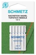 Иглы Schmetz для отстрочки толстой нитью №100(5шт)