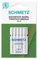 Иглы Schmetz для отстрочки толстой нитью №80(5шт)