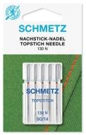 Иглы Schmetz для отстрочки толстой нитью №90(5шт)