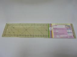 DONWEI Линейка для пэчворка 10х45см (арт.M1045-NS) M1045-NS фото №2