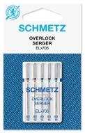 Иглы Schmetz EL*705 оверлочные №80-90