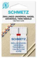 Иглы Schmetz двойные №80/4(1шт)