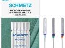 Иглы Schmetz микротекс №60-80 микротекс №60-80 фото №2