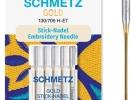 Иглы Schmetz Gold вышивальн.№75(5шт) 130/705 H-ET № 75 фото №3