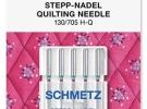 Иглы Schmetz для квилтинга №75(5шт) 130/705 H-Q № 75 фото №1